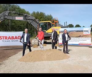 """1. Spatenstich für das Gewerbegebiet """"Barsbüttel B-Plan Nr. 1.54"""" am 17.09.2020"""