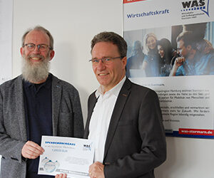Spendenübergabe an die Stormarner Werkstätten in Bad Oldesloe am 17. Dezember 2019